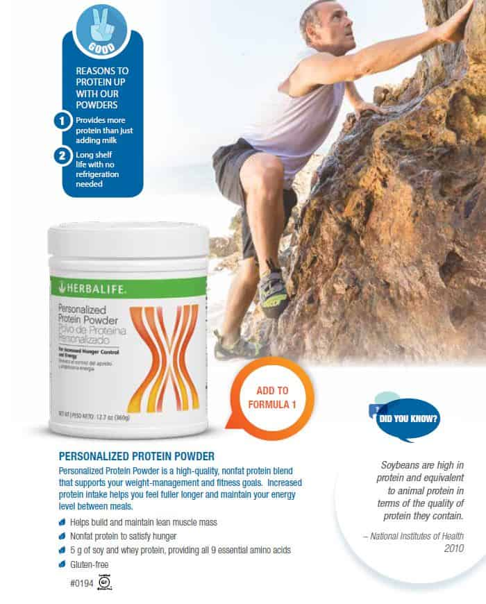 10 - Herbalife Personalized Protein Powder