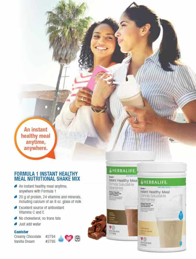 13 - Herbalife Formula 1 Instante Healthy Meal Nutritional Shake Mix