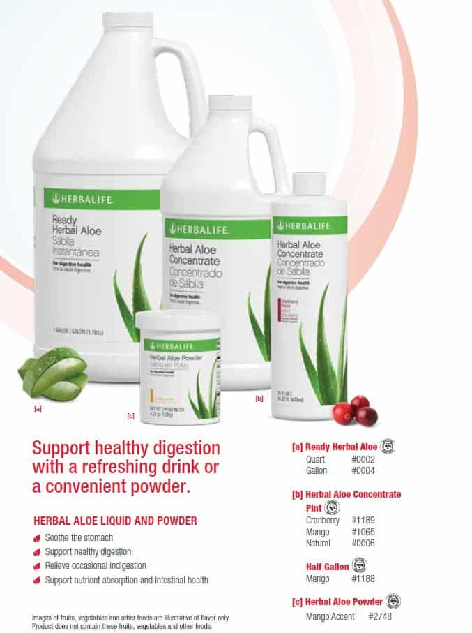 17 - Herbal Aloe Liquid and Powder