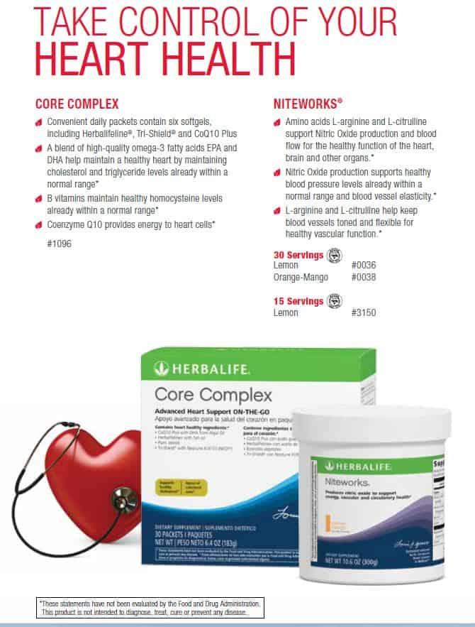 19 - Herbalife Core Complex, Herbalife Niteworks