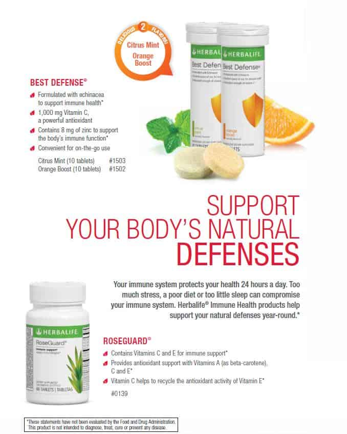 23 - Herbalife Best Defense, Herbalife Roseguard
