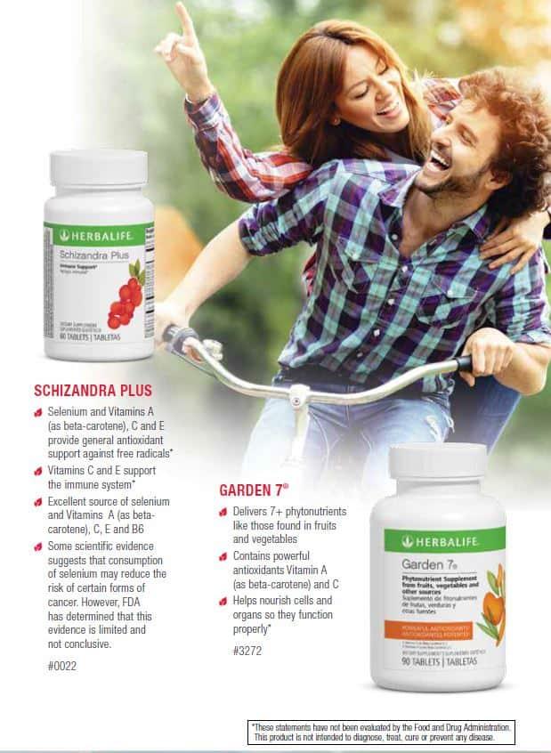 24 - Herbalife Schizandra Plus, Herbalife Garden 7