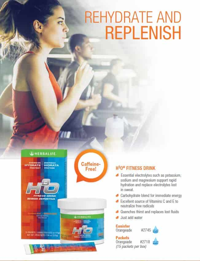 33 - Herbalife H3O Fitness Drink