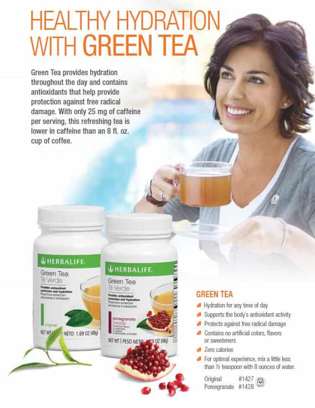 36 - Herbalife Green Tea