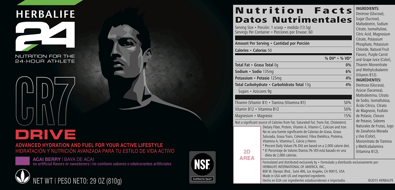 Herbalife24 CR7 Drive - New Hypotonic drink