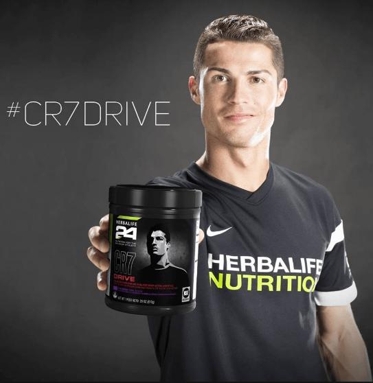 CR7 Drive Cristiano Ronaldo Herbalife