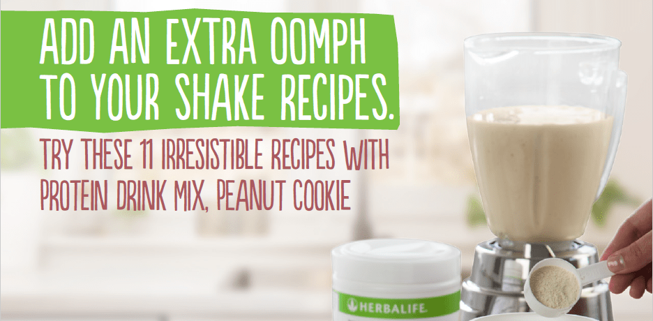 Add an extra oomph to your shake recipes