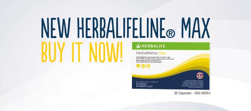 new herbalifeline max