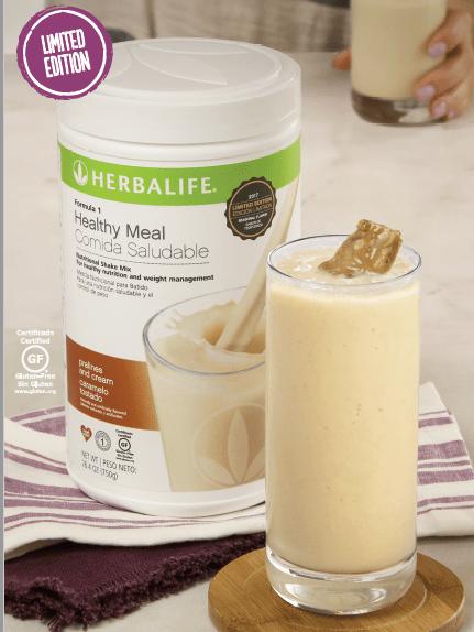 Herbalife Formula 1 Pralines and Cream shake is back