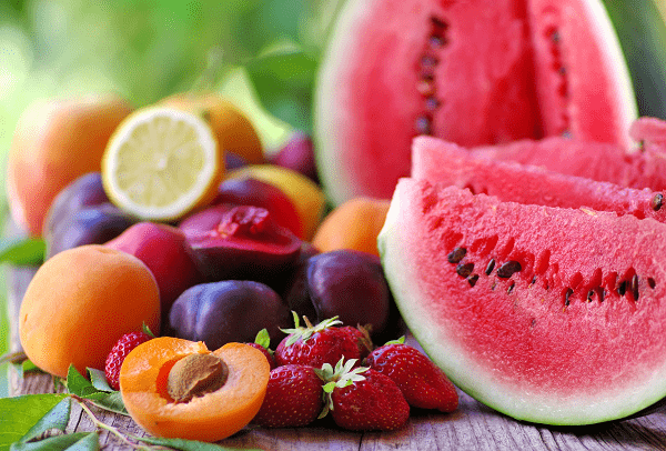 Sugar in fruit