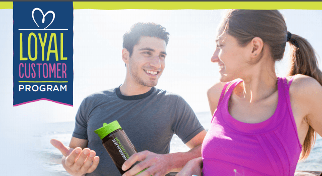 Loyal Customer Program - Get Rewarded for Healthy Living