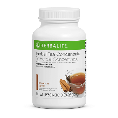 Té Herbal Concentrado 3.53 Oz. Canela - actividad termogénica