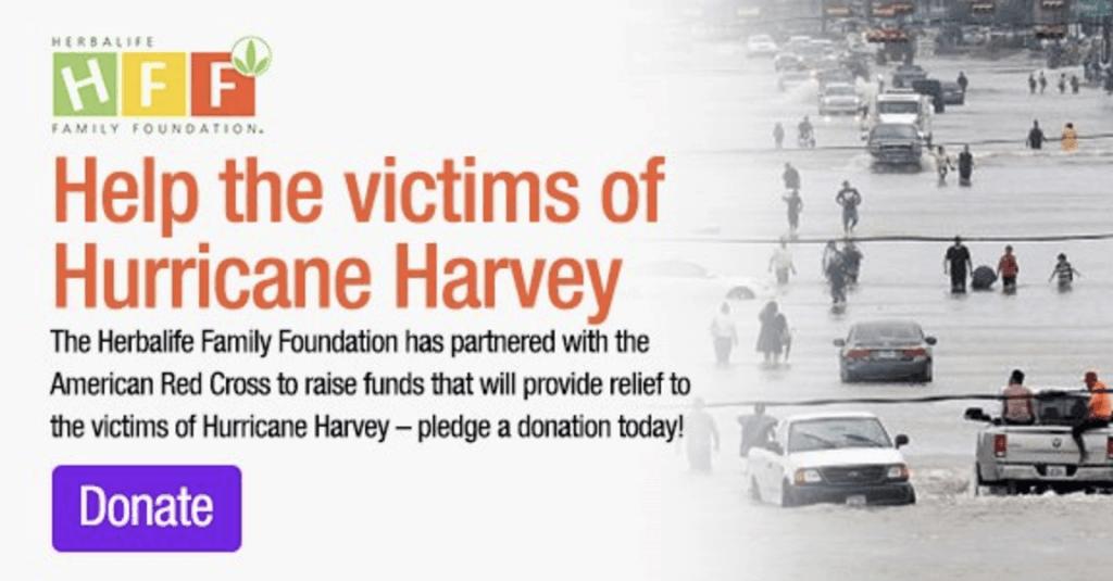Help the victims of Hurricane Harvey