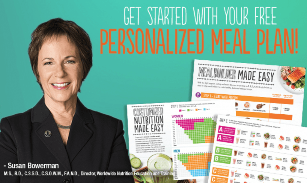 Personalized daily Meal Plans