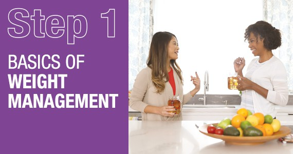 STEP 1 - Basics of weight management