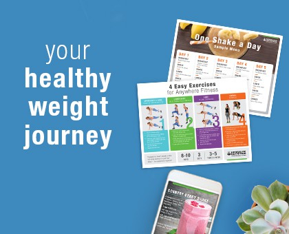 Your healthy weight journey