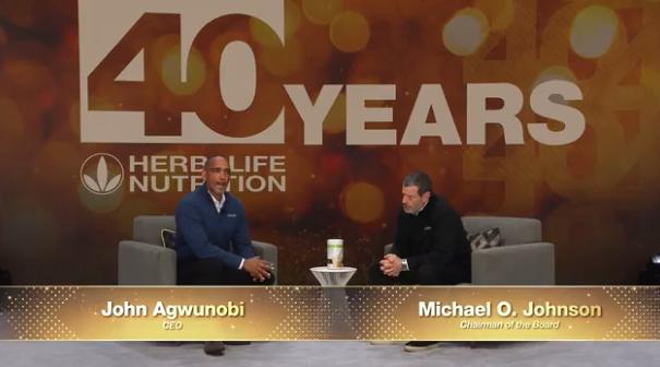John Agwunobi Talks with Michael Johnson